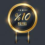 10 ٪ حملة المكافأة المرجعية
